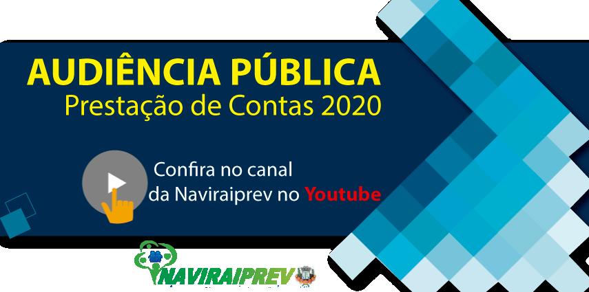 Audiência Pública de Prestação de Contas do exercício de 2020